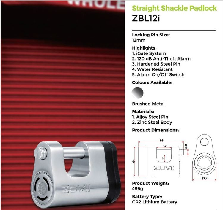 ZOVII Security Locks
