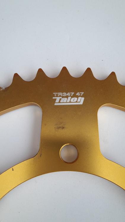 Yamaha R6 sprocket 2003-2006 / 47 Teeth / 520 pitch
