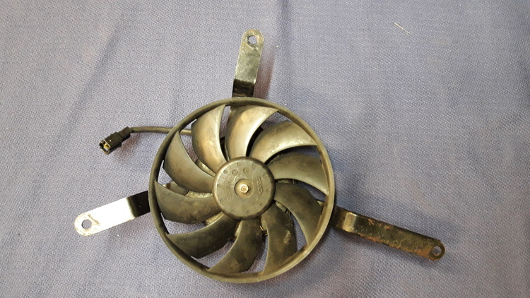 Triumph Daytona 675 (2006-2012) Radiator Cooling Fan