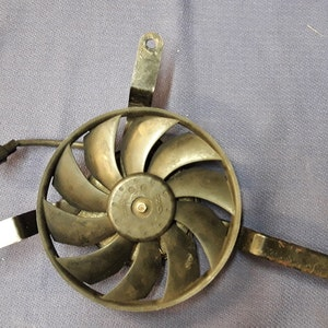 Triumph Daytona 675 Radiator Cooling Fan 2006 - 20011
