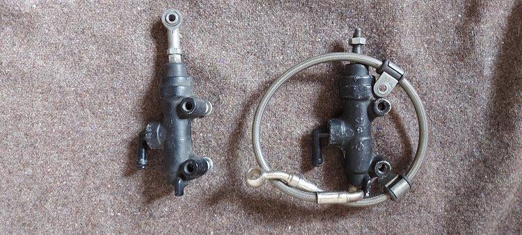 Triumph Daytona 675 2006 - 2011 Rear Master Cylinder
