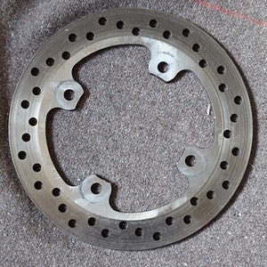 Triumph Daytona 675 2006 - 2011 Rear Brake Disc
