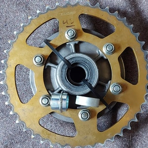 Triumph Daytona 675 2006 - 2011 Sprocket Carrier Complete