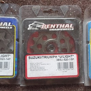 Triumph 675 Daytona 06-12 Front Sprockets 520 Pitch - RENTHAL