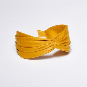 Pieces by bonbon Ebba headband Yellow