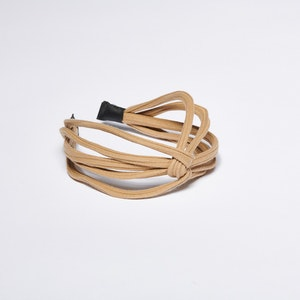 Pieces by bonbon Felicia Headband Beige