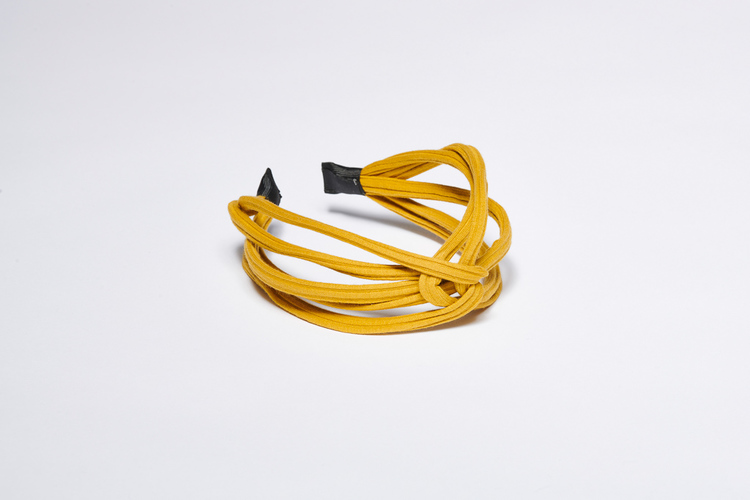 Pieces by bonbon Felicia Headband Yellow