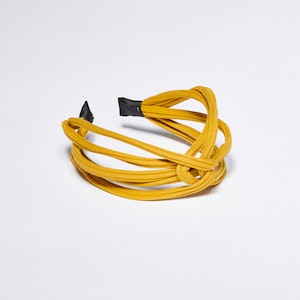 Pieces by bonbon Felicia Headband Yellow