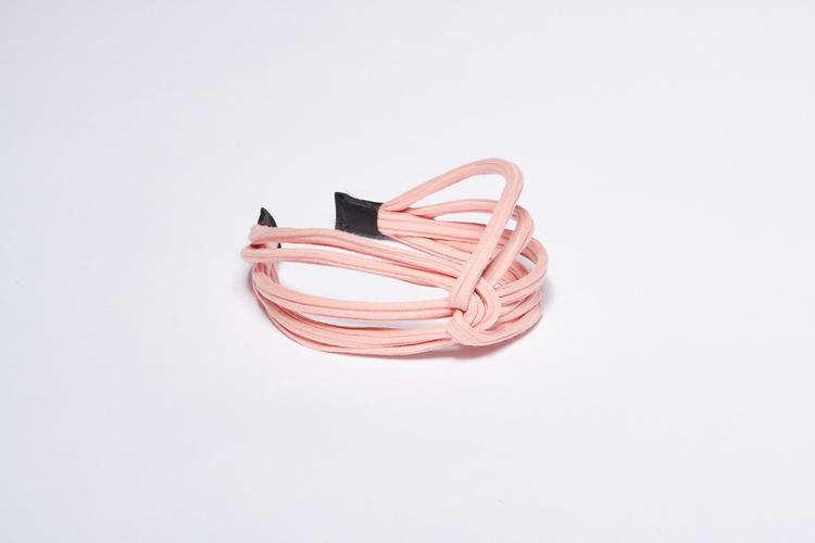 Pieces by bonbon Felicia Headband Light Pink