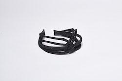 Pieces by bonbon Felicia Headband Black