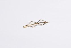 Pieces by bonbon Josefine hairclip Guld