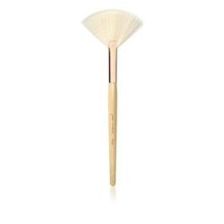 Blush/White Fan Brush
