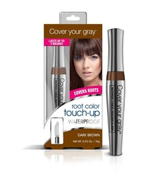 Cover Your Gray, Waterproof Root Touch-up, Dark Brown