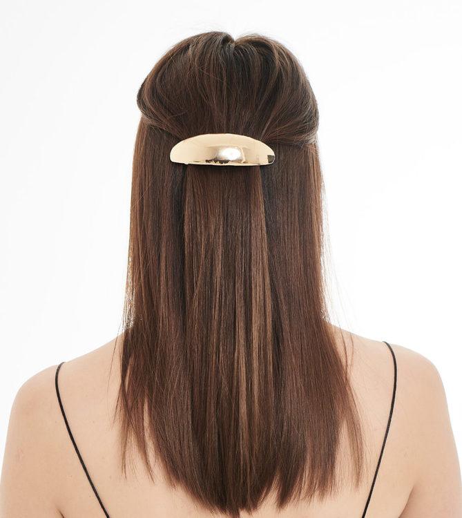 Pieces by bonbon Jonna hairclip silver