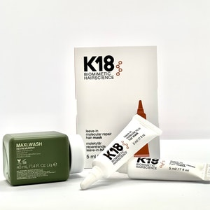 K18 DUO At Home Hair Mask 2x5 ml + Kevin Murphy Maxi Wash 40ml KAMPANJPRIS!