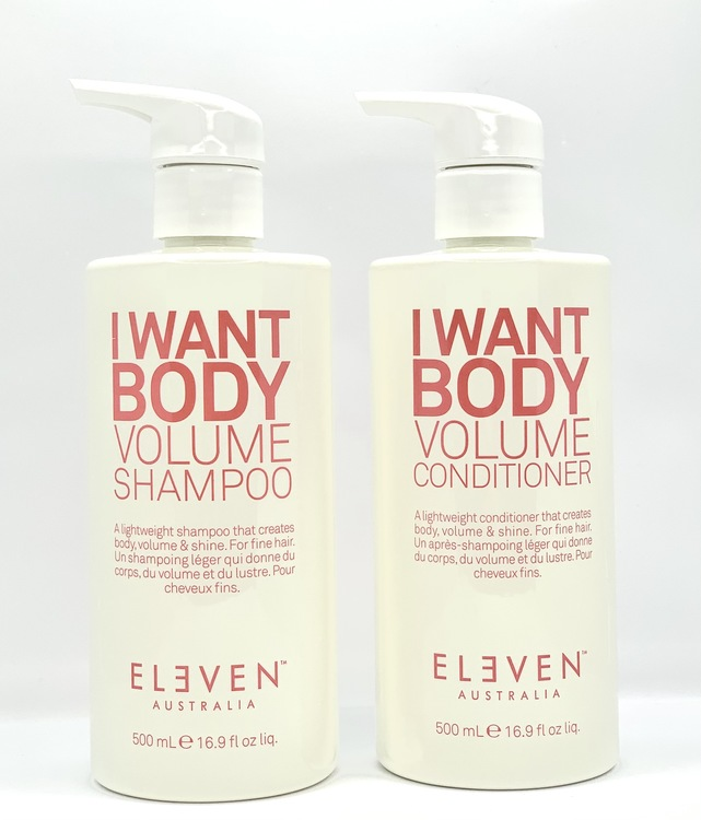 I want body volume Duo 500ml