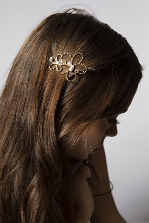 Pieces by bonbon Anna-lisa hairclip gold
