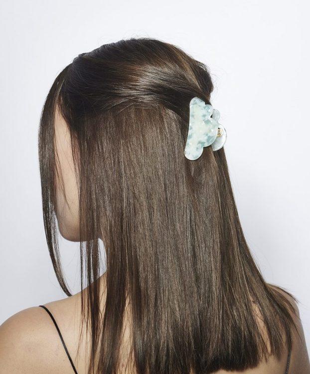 Pieces by bonbon Helene hairclaw green