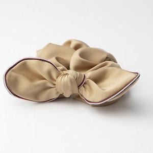 Pieces by bonbon Elin Scrunchie beige