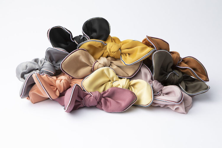 Pieces by bonbon Elin Scrunchie pastel yellow