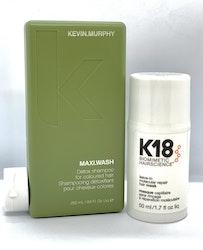 K18 Hair Mask 50 ml + Kevin Murphy Maxi Wash 250ml KAMPANJPRIS!