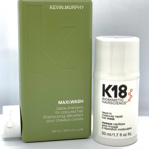 K18 Hair Mask 50 ml + Kevin Murphy Maxi Wash 250ml KAMPANJPRIS!