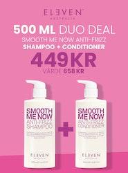 Smooth Big Duo 500 ml Eleven Australia Smooth Shampoo & Conditioner