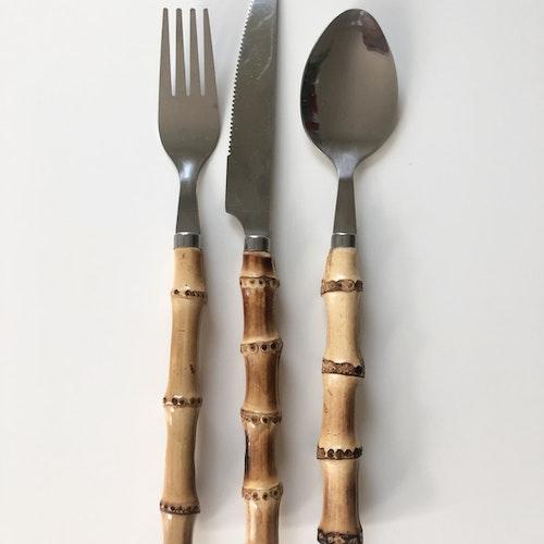 Bambubestick set