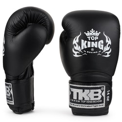 TOP KING: BOXNINGSHANDSKAR SUPER AIR SVART