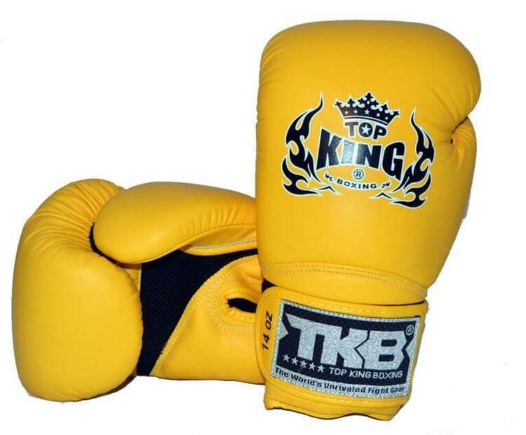TOP KING: BOXNINGSHANDSKAR SUPER AIR GUL