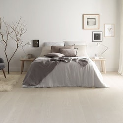 Tarkett Shade 14 Ek Cloud Grey Plank - Hårdvaxolja - Parkettgolv