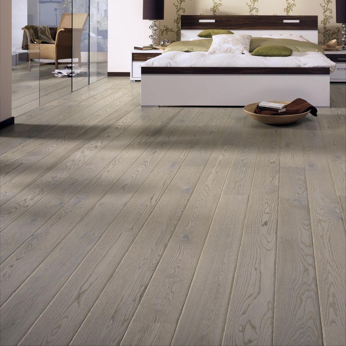 Tarkett Shade Ek Misty Grey Plank Br 1-Stav - Mattlack - Parkettgolv - 2520 MM - 14 MM