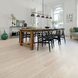 Tarkett Prestige Ek White Sand 1-Stav - Hårdvaxolja - Parkettgolv