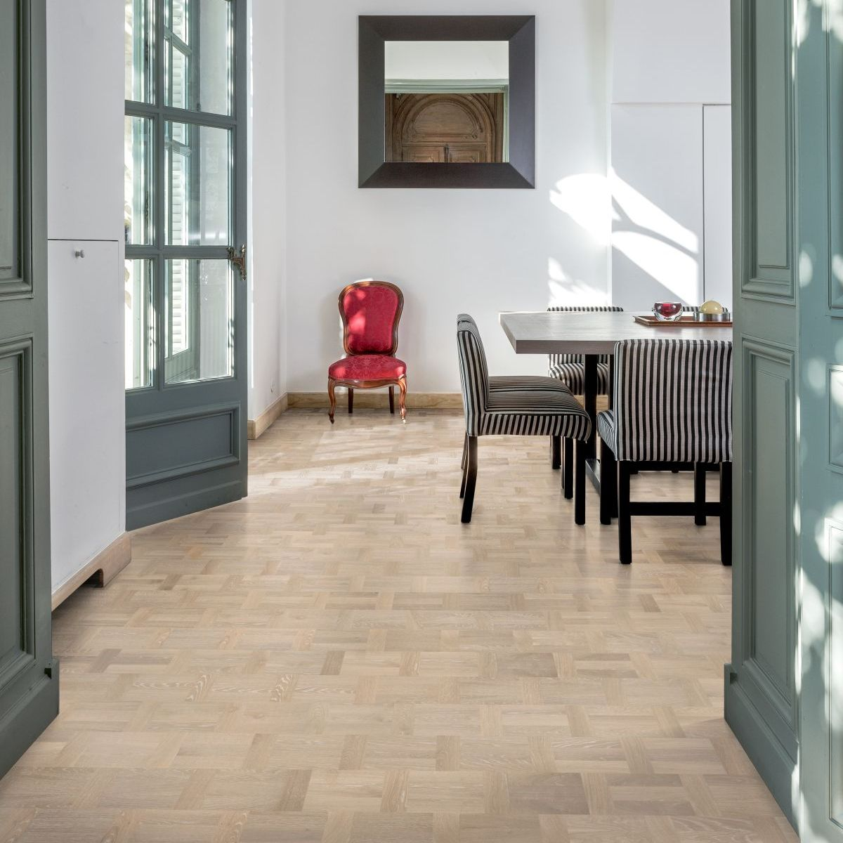 Kährs Ek Palazzo Bianco Holländskt Mattlack - Parkettgolv