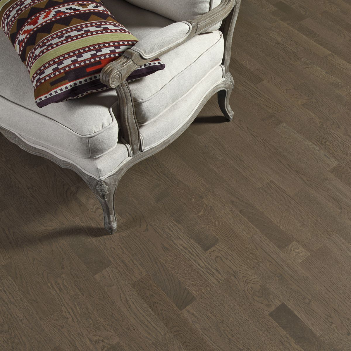 Tarkett Shade Ek Stone Grey Tres Br 3-Stav - Mattlack - Parkettgolv - 2281 MM - 14 MM