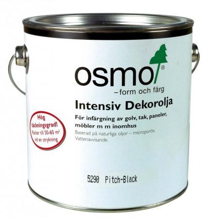 Osmo Dekorolja Intensiv 5290 Svart sidenmatt 0,75 L