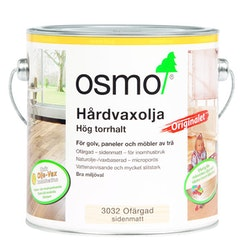 Osmo Hårdvaxolja Originalet 3032 Ofärgad sidenmatt 2,5 L