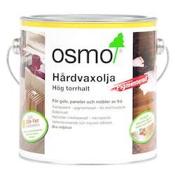 Osmo Hårdvaxolja Pigmenterad 3040 Vit sidenmatt 2,5 L