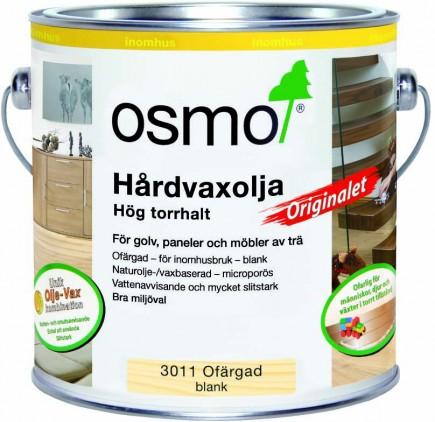 Osmo Hårdvaxolja Originalet 3011 Ofärgad blank 0,125 L