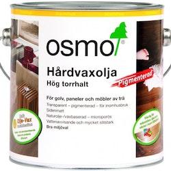 Osmo Hårdvaxolja Pigmenterad 3067 Ljusgrå sidenmatt 0,75 L