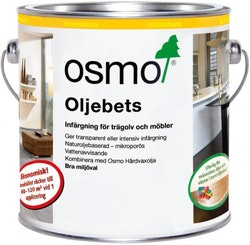 Osmo Oljebets 3518 Ljusgrå sidenmatt 0,125 L