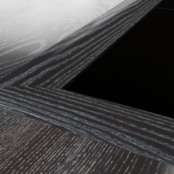 Kährs Massiv Nivålist Ek  Black Silver 58X20X2400 7026024EKS8