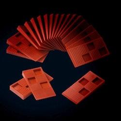 Kährs Väggdistanskilar Plast 20 St/Påse 710208
