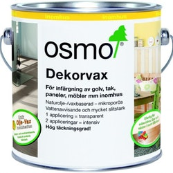 Osmo Dekorvax 3169 Svart sidenmatt 0,125 L