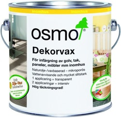 Osmo Dekorvax 3169 Svart sidenmatt 0,375 L