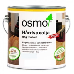 Osmo Hårdvaxolja Rapid 3240 [DG] Vit sidenmatt 25 L