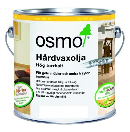 Osmo Hårdvaxolja Effekt Silver 3091 Silver sidenmatt 0,75 L
