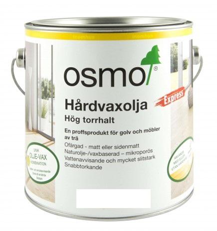 Osmo Hårdvaxolja Express 3332 [LQ] Ofärgad sidenmatt 0,75 L