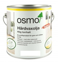 Osmo Hårdvaxolja Express 3332 [DG] Ofärgad sidenmatt 10 L