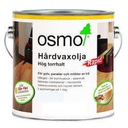 Osmo Hårdvaxolja Rapid 3232 [LQ] Ofärgad sidenmatt 2,5 L